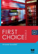 First Choice Answer Booklet A1 - Engels