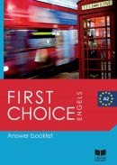 First Choice Answer Booklet A2 - Engels